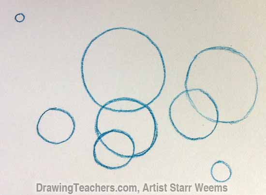 How to Paint Bubbles 2