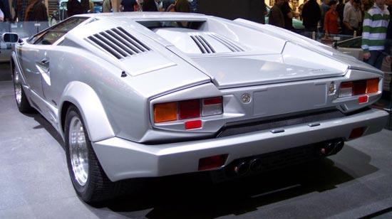 Lamborghini Countach Silver 25th Aniiversary