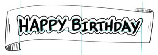 make a birthday banner