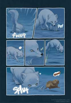 Last of the Poalr Beaars art by Lindsay Cibos