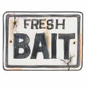 Fresh Bait Sign