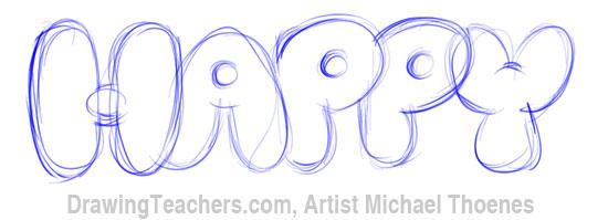 Bubble Letters 5