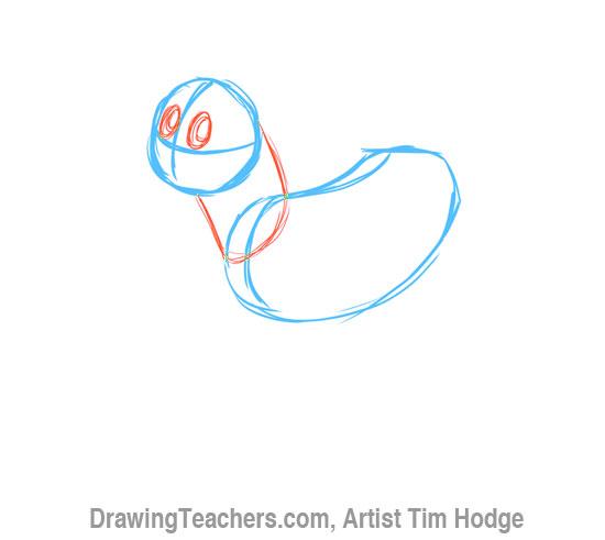How to Draw a Cartoon dog 3