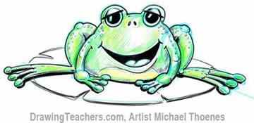 Green Frog 3