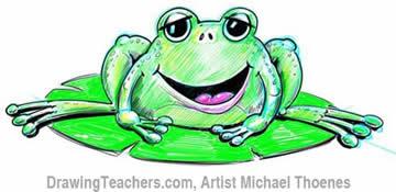 Green Frog 8