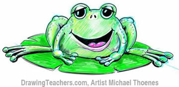 Green Frog 9
