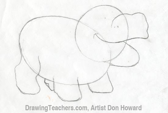 Cartoon Hippo 2