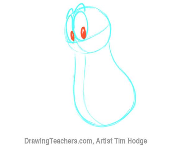 How to Draw a Cartoon penguin 4