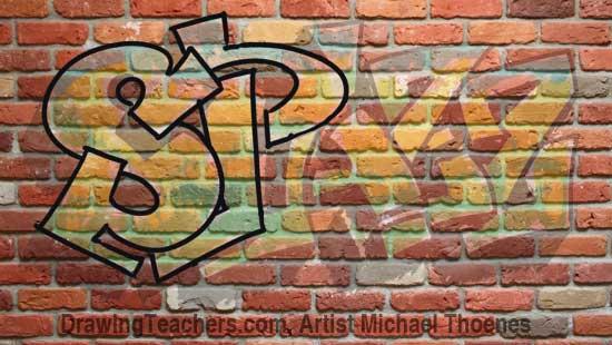 Graffit Letters SPAZZ