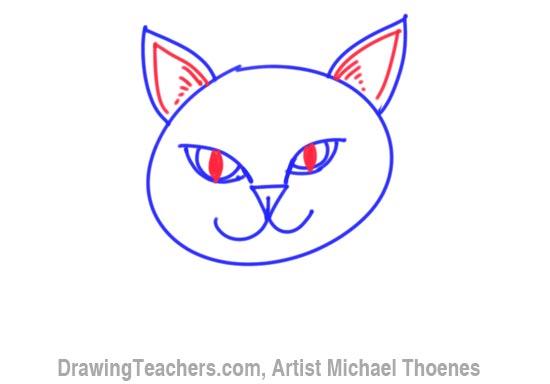 How to Draw a Cartoon Dog Step 4