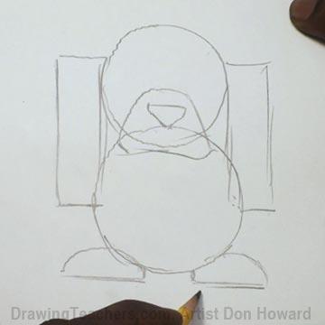 How to Draw a Hound Dog 3