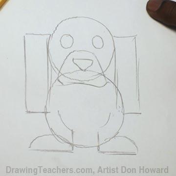 How to Draw a Hound Dog 5