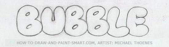 3d block letters 4