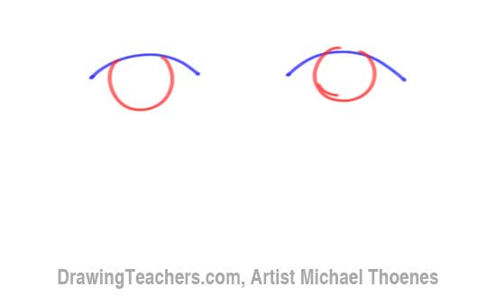 How to Draw a Easy Eyes 2