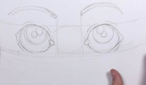 Cartoon Eye 04