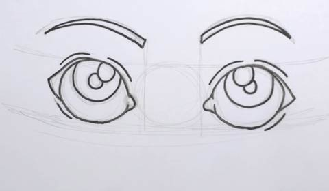 Cartoon Eye 05