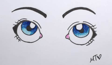 Cartoon Eye 08