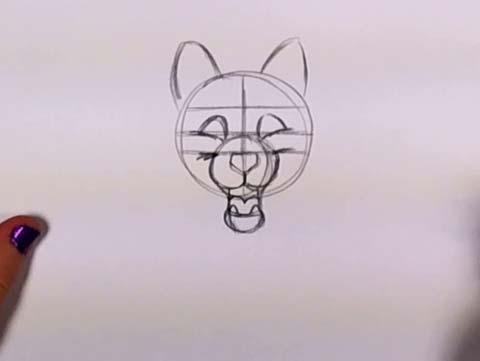 Draw a Husky 04