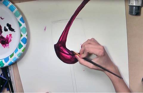 Paint Wine - Adding Depth