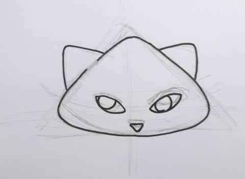 Cartoon Cat 04