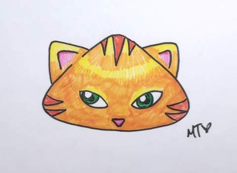 Cartoon Cat 07
