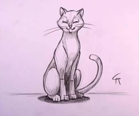 Cat in Pencil 07