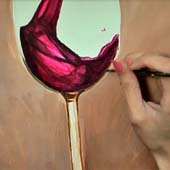 Paint a Wine Glass Thunbnail